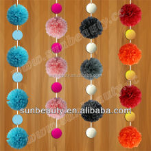 Indian Wedding Garland Decorations, paper flower garland