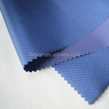 210D PVC coated polyester oxford fabric diamond polyester ripstop fabric