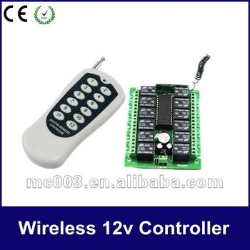 Intelligent on/off Long Distance Wireless Relay Switch