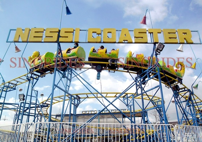 24 Seats Middle-sized Nessi Coaster From China Amusement Manufacturer