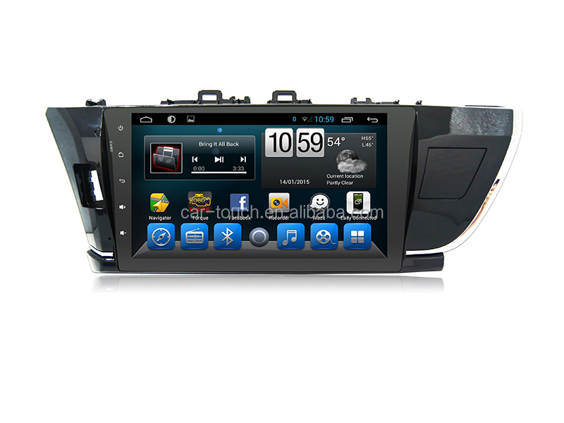 "HD Car Stereo DVD Player 10.1"" in Dash 2 Din Touch Screen built-in bluetooth gps Car CD Player AM/FM RDS Radio MP3/4 USB SD TV"