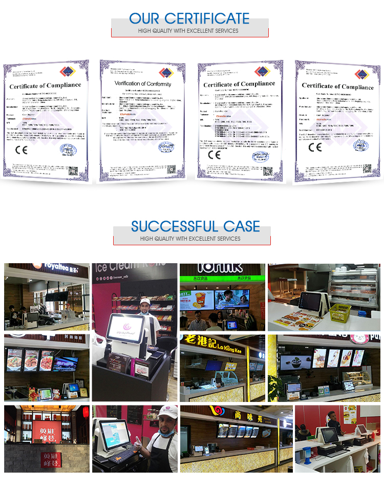 best integrated restaurant cashier system all in one pos ordering pay system