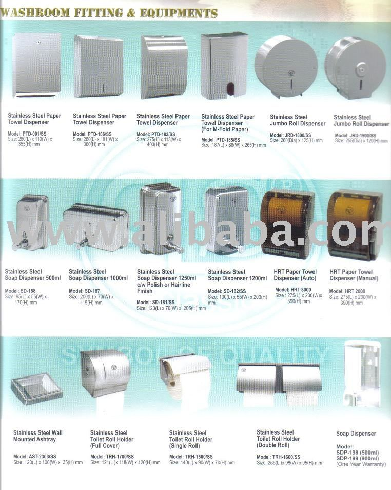 Washroom/Cleaning Equipments