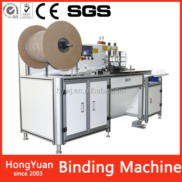 book binding machine double loop wire ring machine