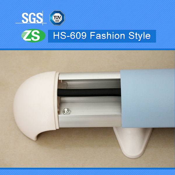 wall covering escalator handrail rubber