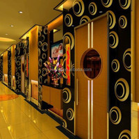Hotel Decorative Stainless Steel Folding Elevator Door for Decoration