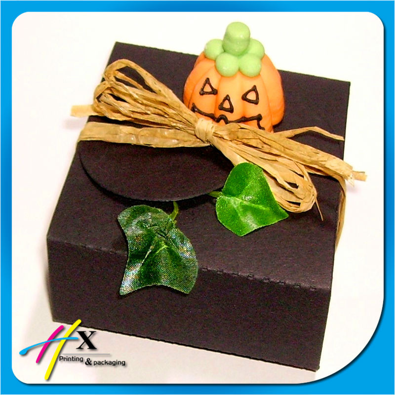 Fancy custom halloween gift box for wholesale China supplier