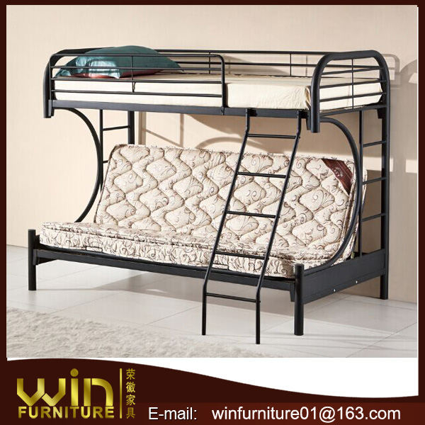 fashionable metal sofa bunk bed for oversea market
