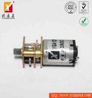 Micro 9mm length gearbox 12v dc motor low rpm for home appliance