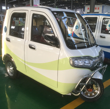 5 doors electric tricycle for sale with 1000w motor and reverse camera