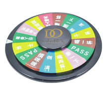 fashionable acrylic game roulette for entertainment