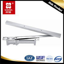 Door closer, square shape casting aluminium alloy small size spring loated door closers
