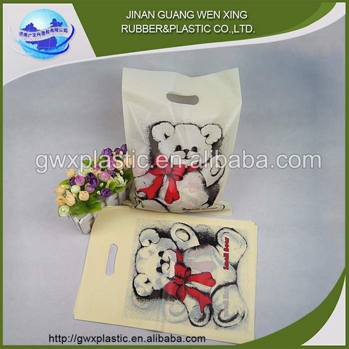 China factory direct sale new design fasion promotional tote bag and biodegradable plastic bag