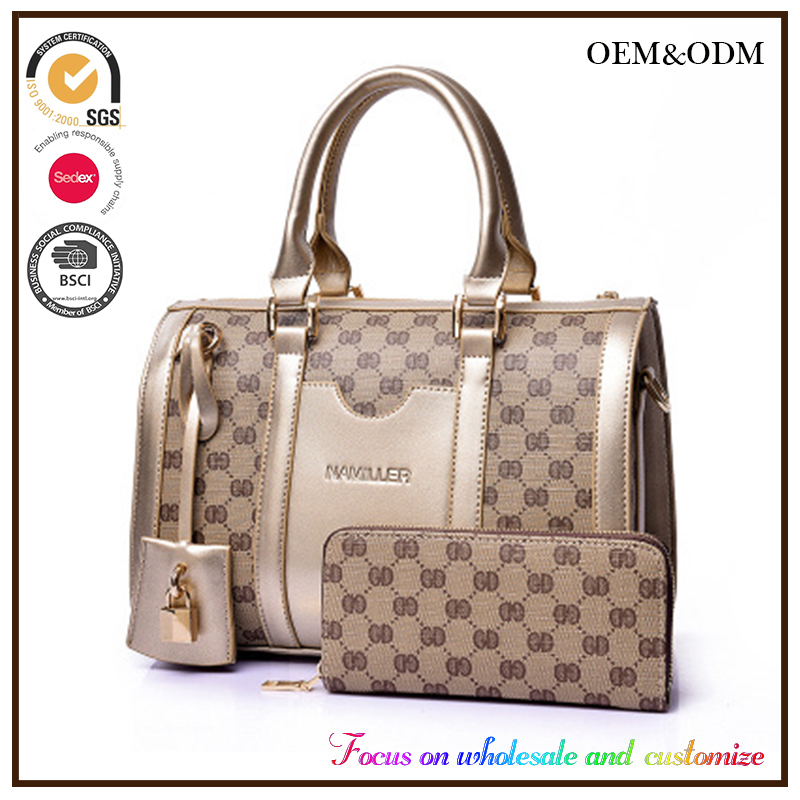 Alibaba taobao Excellent Quality Personalized PU Leather Fashion Bags Wholesale Kong Hong