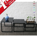 Industrial Style Steel Square Tea/Coffee Table Sofa Corner Table Design
