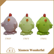colorful easter gift ceramic hen made in china