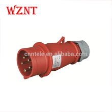 IP44 380V 16A 32A 63A 5 pin industrial plug and socket