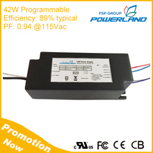 2017 New design 15w constant voltage dimmable led transformer with UL cUL