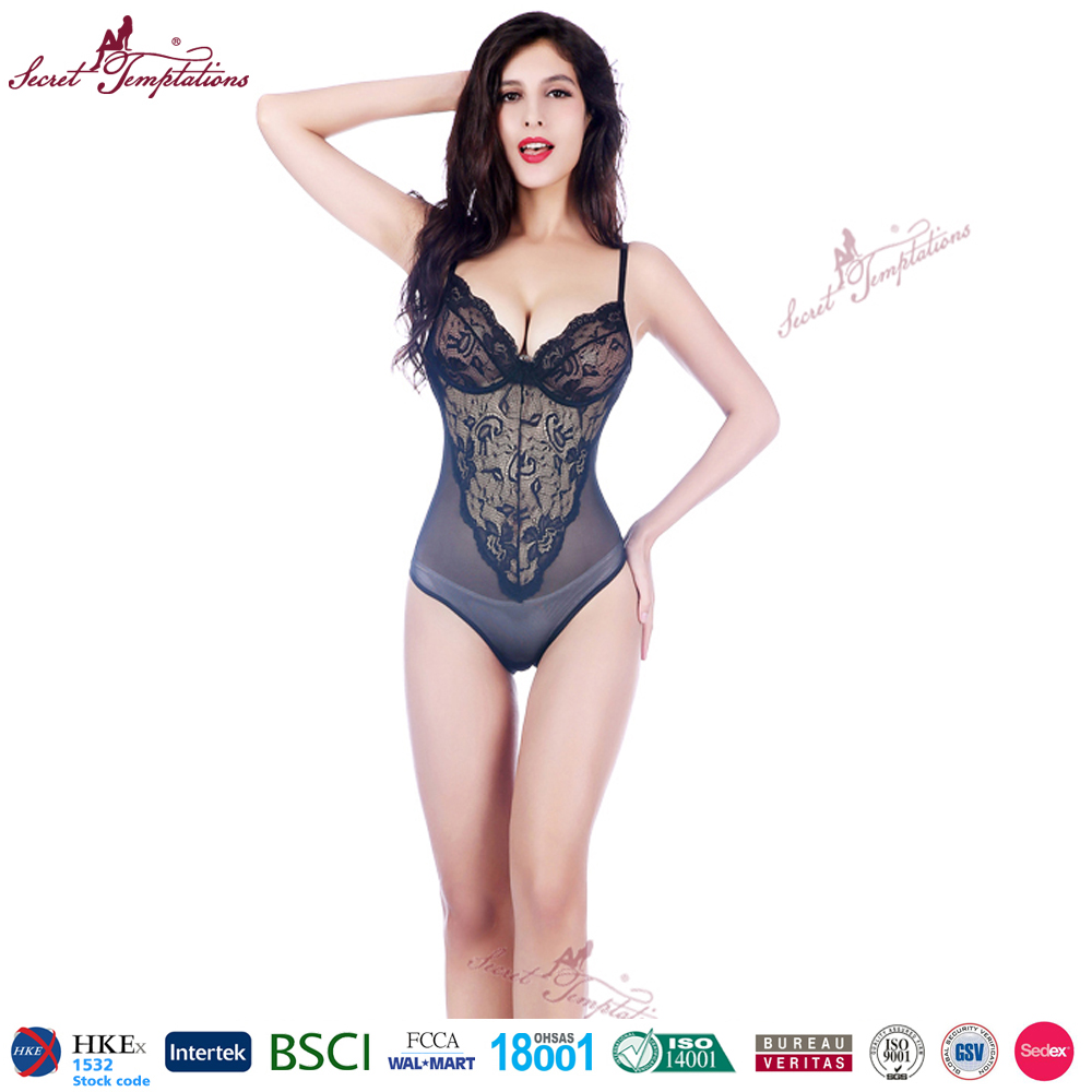 sexy bodysuit women lace black sexy lingerie sex clothes adult bodysuit for women