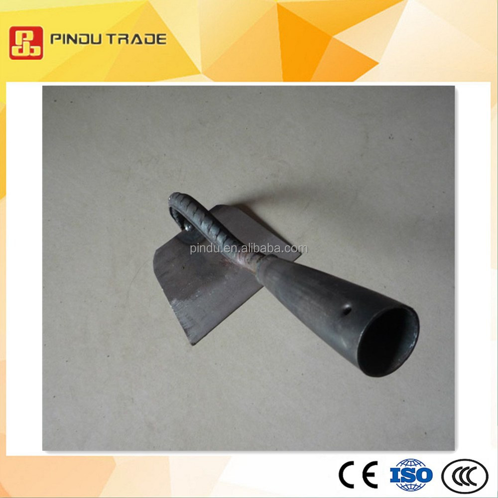 Carbon steel farming hoe head