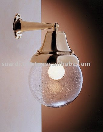Polished Brass Light Bell Shaped