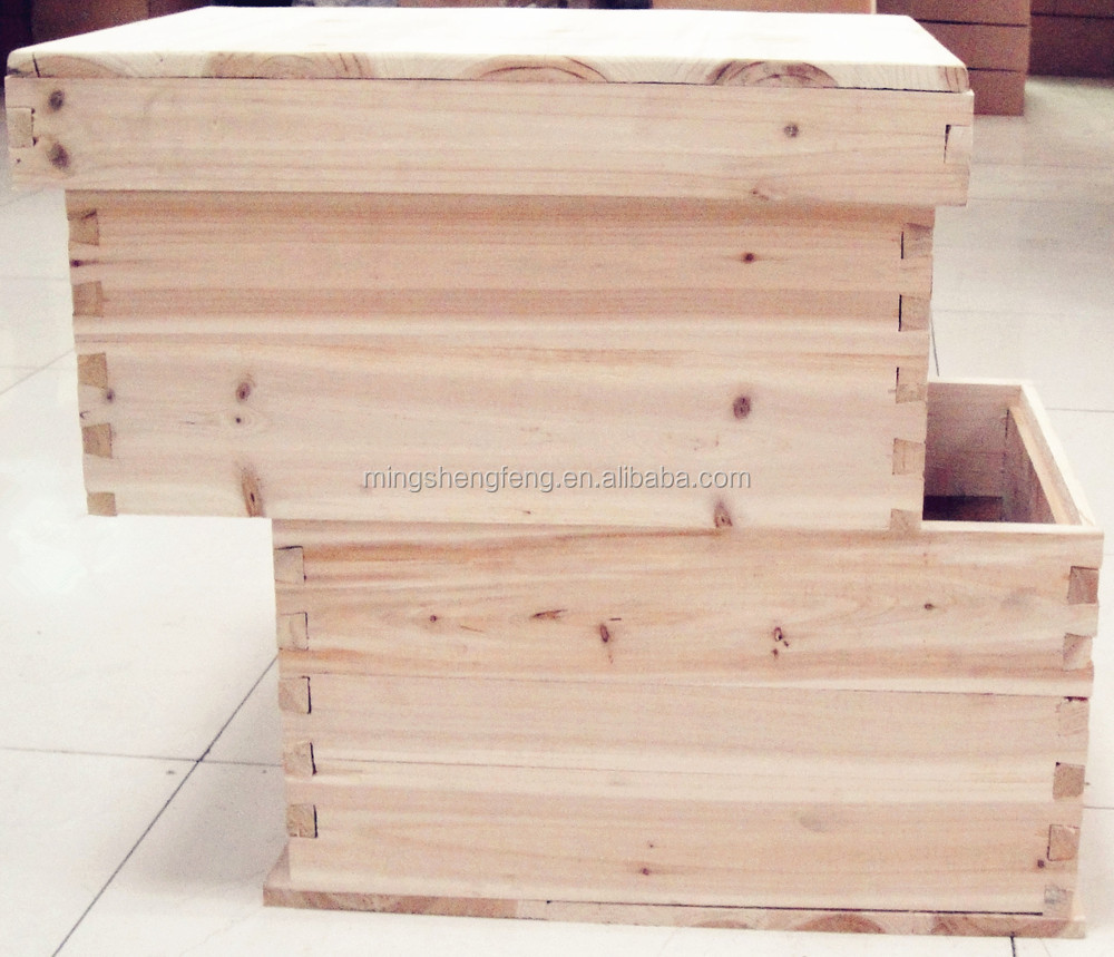 China supplier Langstroth beehive widely used for bee house