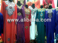 Wholesale Varieties Quality Kaftan Abaya Jubah Hoodie Caftan Dress Maxi Muslimah