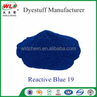 Reactive Dye Blue 19/Reactive Brill Blue KN-R Textile Dyeing cotton fabric dye