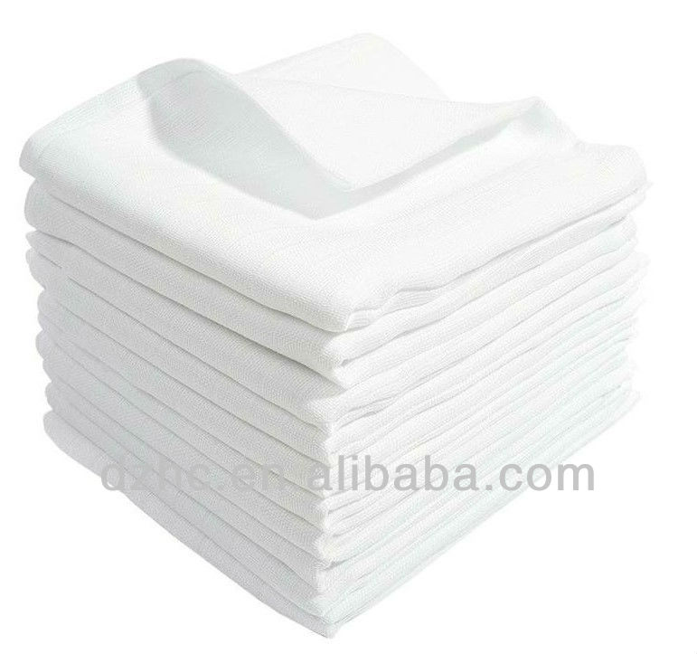 100%Cotton double Gauze baby muslin square