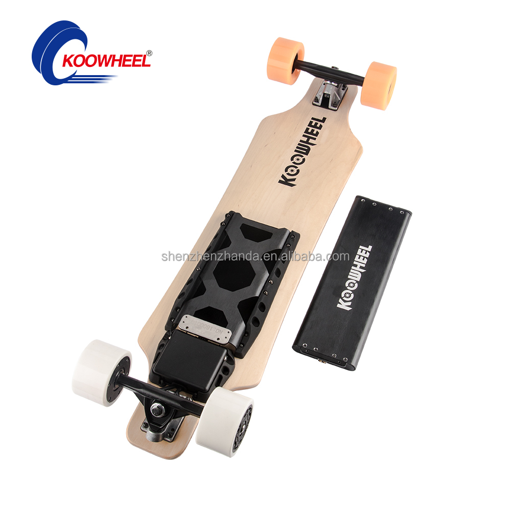 Professional 4 Wheels Electric Skateboard/Longboard Double drive two Brushless Motor from Factory