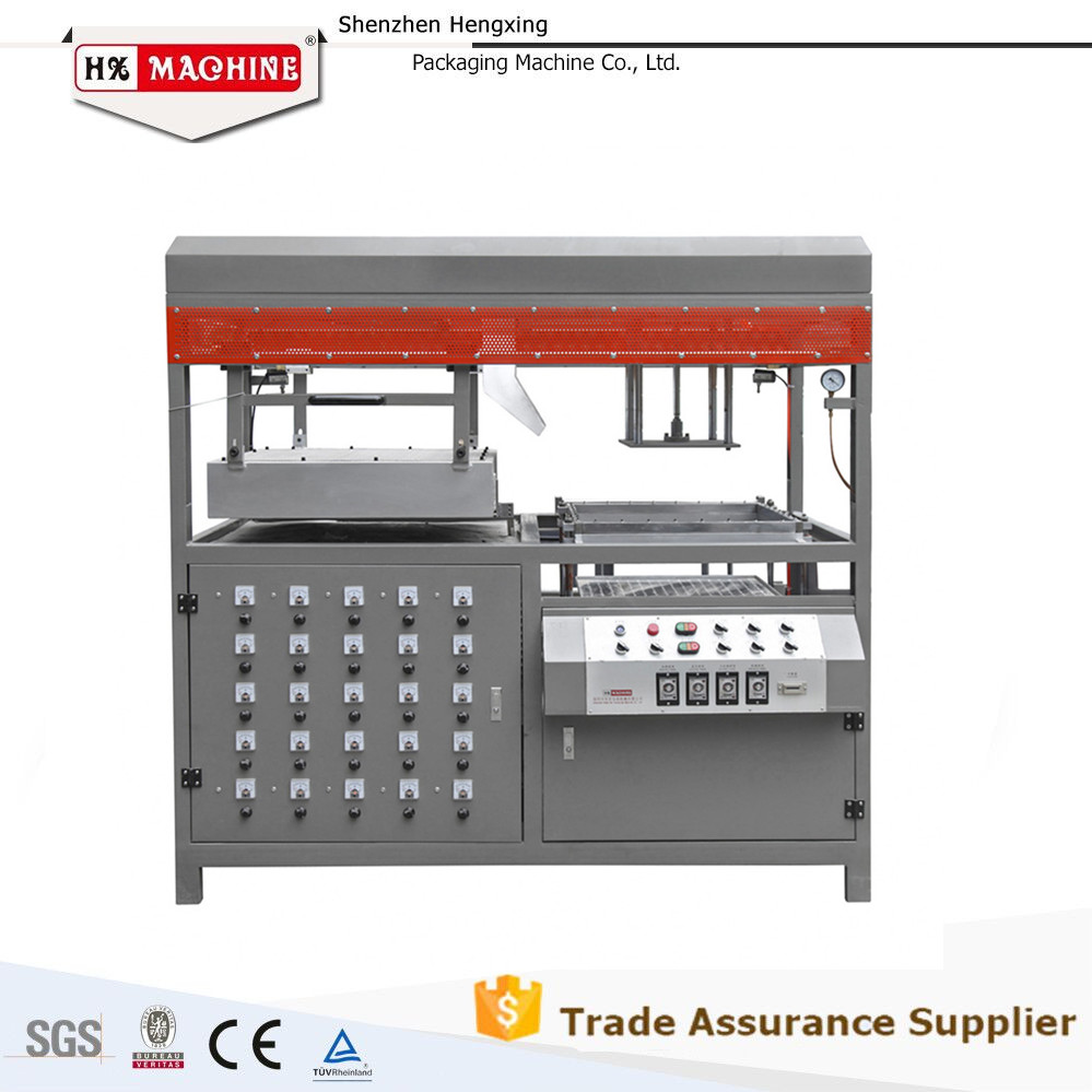 vacuum thermoforming machine to make clamshell clamshell maker