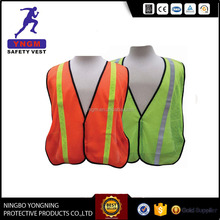 New Yellow Reflective High Visibility Safety Vest with vertical strip M, L, XL, XXL