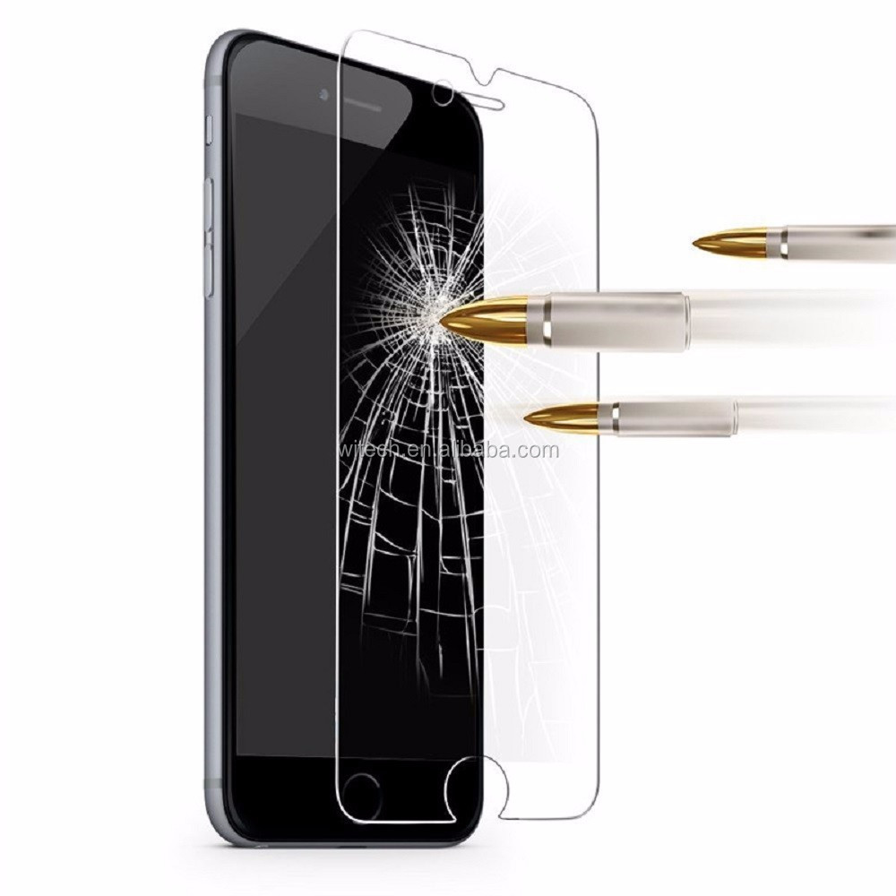 Factory Supplier 9H High Clear Tempered Glass Screen Protector For iPhone 7,For iphone 7 plus Tempered Glass
