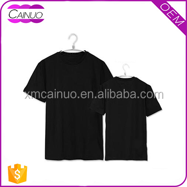 OEM Love Couple T-shirt Design 100% Cotton Blank Tshirt No Label Tshirt