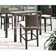 Outdoor Rattan Garden Patio Wicker Furniture Bar Set