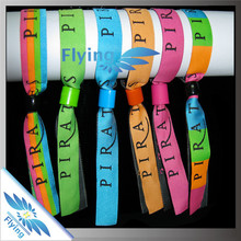 satin ribbons imported woven wristband