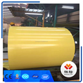 ppgi factory steel coil use for roofing sheet yellow color
