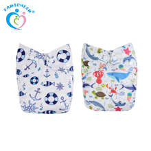 Wholesale Adjustable Washable Baby Wholesaler Aio Cotton Soft Baby Cloth Diaper
