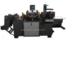 Flatbed High Speed Printed Label Die Cutting Machine Hot Stamping Foil Machine