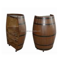 Wooden barrel wine rack, nautical box for wine bottle,Gifts,Souvenir,Handicrafts,Decor,Nautical,Home decoration,Furniture