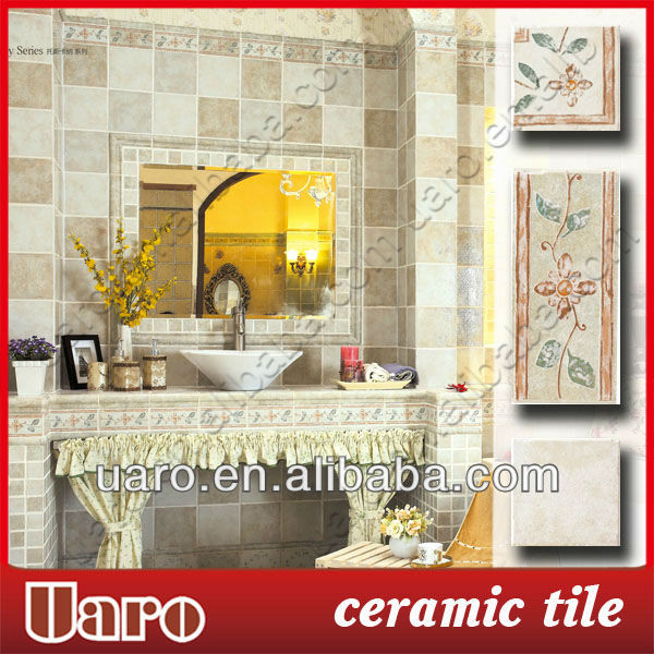 Rustic antique ceramic brick vintage grey cloud marble tile Tuscany Series