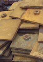 PF1214 LINING PLATE 350x350mm, LINER PLATE, 1007,1010,1210,1214.,1315,1516 impact crusher, impacter