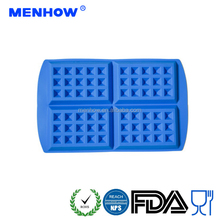 Food grade silicone waffle cake mould chocolate mould silicone bakeware
