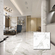 60x60cm quartz super white glazed porcellanato porcelain floor tile