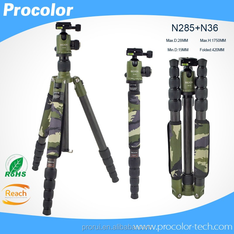 Tripod hunting stands equipment heavy duty tripod Carbon fiber lightweight laser level green tripod