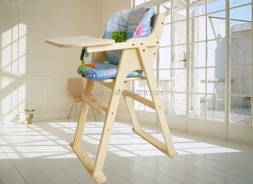Fashion Baby Doll High Chair/ Wood Furniture Wholesale