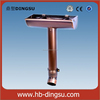 Factory 6K copper rain gutter and downpipes/gutter and fittings/7H half round copper gutter