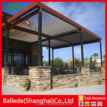 Aluminium ouvered Patio Cover roof