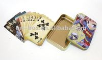 Tin Poker card box