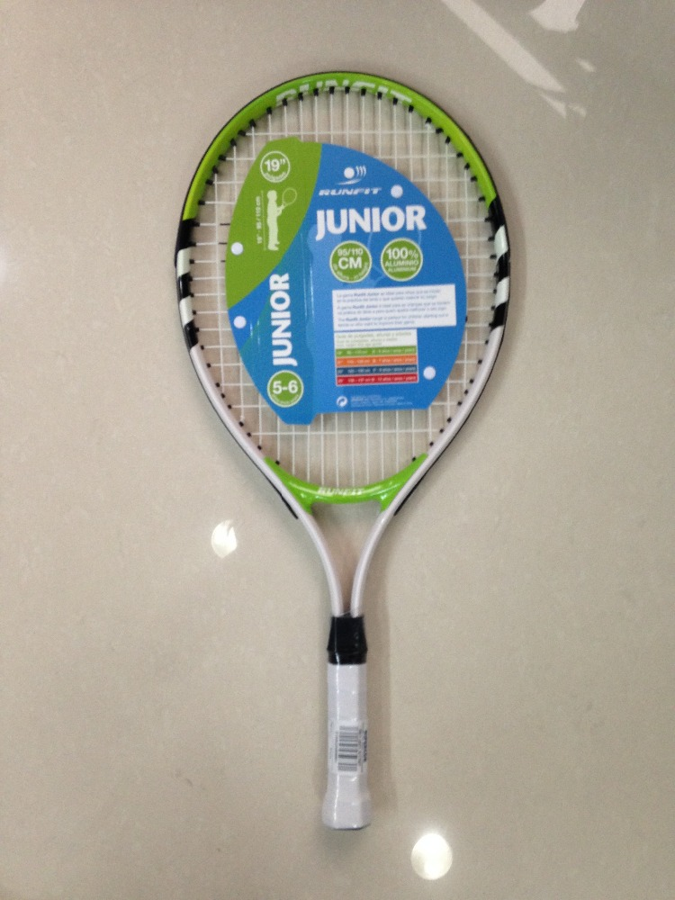 OEM 19 inch kis sports tennis racket aluminun alloy contruction tennis racquet mini tennis racquet